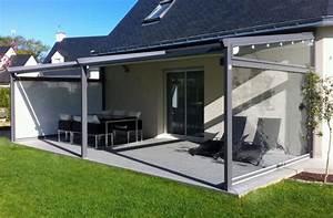 pergolas pour terrasse With rideau pour pergola exterieur 15 brise vue retractable sur mesure