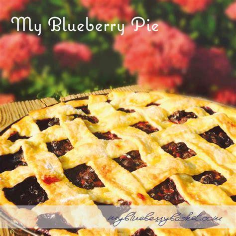 my blueberry pie my blueberry basket