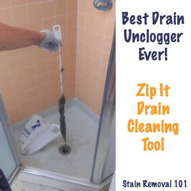 simple chemical  drain unclogger zip  drain cleaning tool