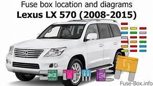 Fuse Box Location And Diagrams  Lexus Lx570  2008