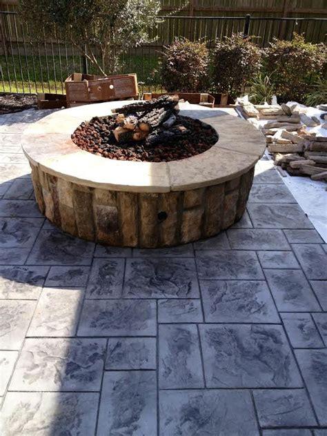 custom fire pit patio covers katy tx patio builder