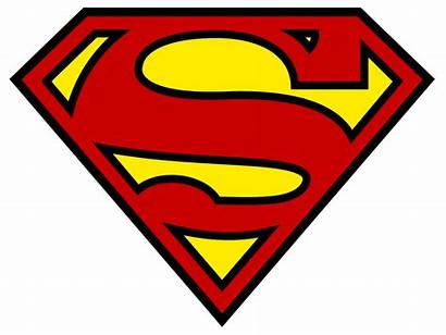 Superman Chest Letter Shield Supermans Think Svg