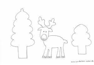 Elch Basteln Vorlage : elch aus eichenbl ttern stecken und klorolle natur ~ Lizthompson.info Haus und Dekorationen