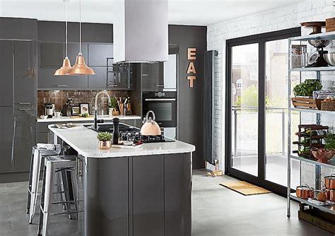 Industrial kitchen design ideas   Ideas & Advice   DIY at B&Q
