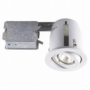 Halogen recessed light fixture rona