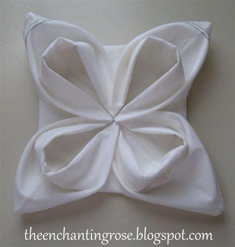 fancy napkin folding fold a fancy napkin diy snowflake napkin fold napkin folding ideas pinterest