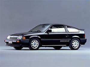 Honda Crx  With Dohc Engine  This Engine Only Made It To
