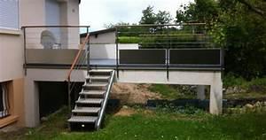 terrasse sur pilotis en beton prix nos conseils With terrasse beton sur pilotis