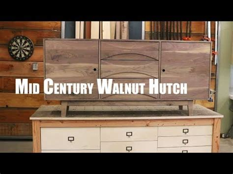 sekretär mid century mid century walnut hutch build how to