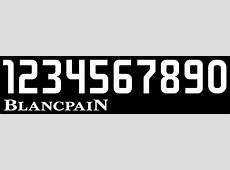 Numeral Blancpain RaceDepartment Latest Formula 1
