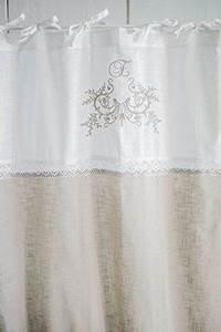 Shabby Chic Gardinen : freya cappuccino bestickt vorhangset mit spitzenborte 2x120x240cm vorh nge vorhang gardinen ~ Eleganceandgraceweddings.com Haus und Dekorationen