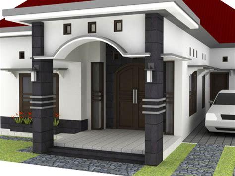 rumah minimalis modern contoh model teras rumah minimalis