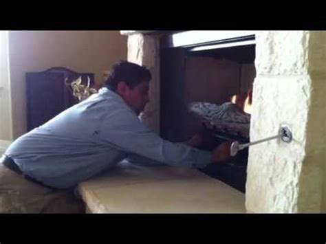 how to turn on a gas fireplace how start gas fireplace
