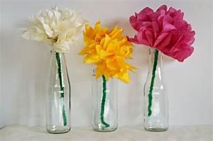Blumen Aus Seidenpapier : papierblumen aus seidenpapier basteln ~ Orissabook.com Haus und Dekorationen