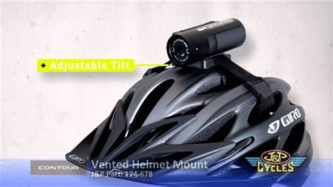 contour helmet contour vented helmet mount shop j p cycles