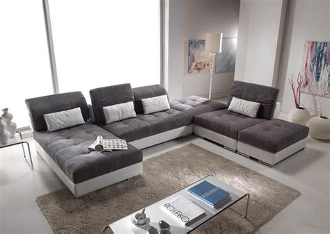 home center canapé canapé d 39 angle convertible cuir center canapé idées de