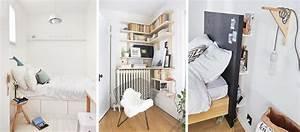 13 astuces de rangement pour optimiser une petite chambre With astuces de rangement chambre