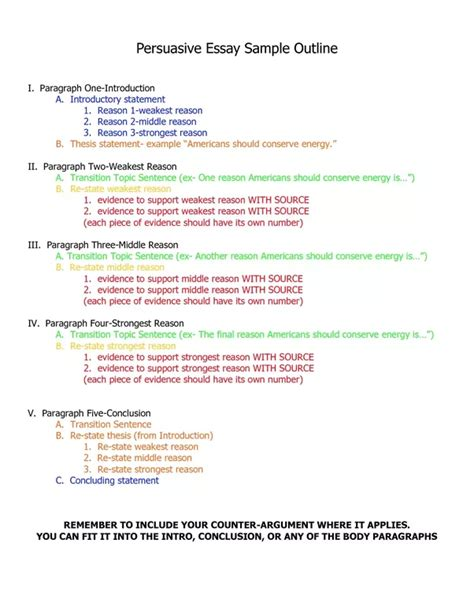 Thesis Statements Using Precis Template by Format Sentence Parlo Buenacocina Co