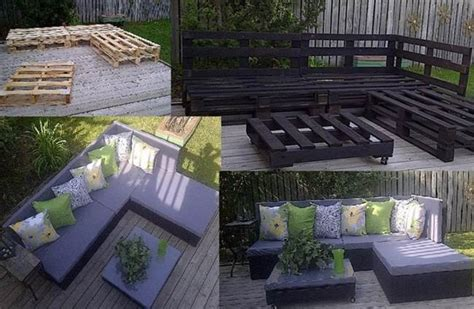creative ideas diy patio day bed  wooden pallets