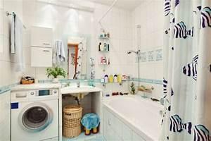 Waschmaschine Unter Waschbecken : jak zmie ci pralk do azienki w ~ Watch28wear.com Haus und Dekorationen