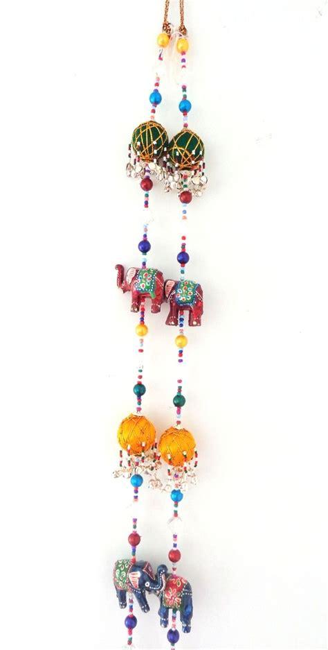 indian home decor handicraft elephant theme wall hanging