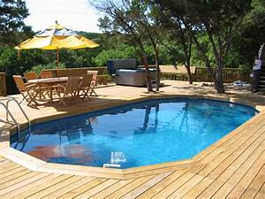 Best swimming pool deck ideas for Above ground swimming pool deck designs