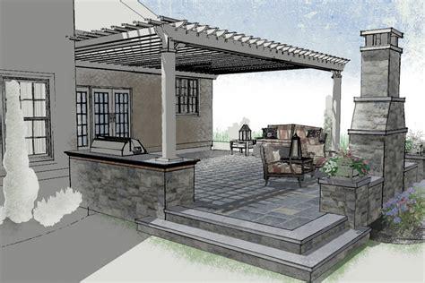 raised patio masonry picture post contractor talk