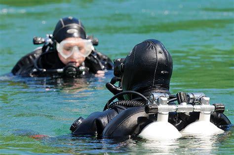 Diving Depth Open Circuit Technical Diver Training