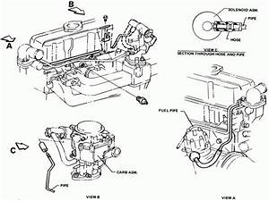 2001 Mercury Cougar Vacuum Hose Diagram