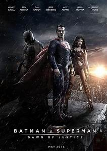 Sweet Fan Made 'Batman v Superman' Poster