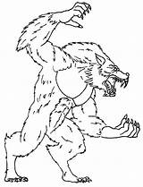 Goosebumps Coloring Werewolf Slappy Printable Template Characters Zombie sketch template