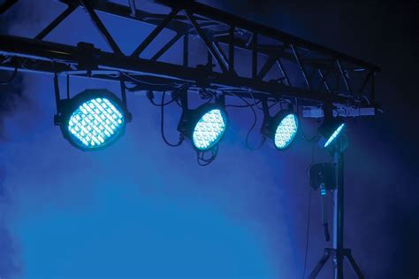stage lighting packages american dj mega flat pak plus led light system pssl