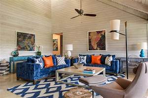 A Farmhouse Style Retreat In Florida Features Pops Of Color