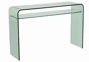 Console Verre Et Bois : table console tous les fournisseurs mobilier console meuble console console en verre ~ Teatrodelosmanantiales.com Idées de Décoration