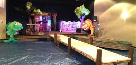 fish church stage design ideas
