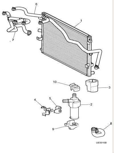 Fog Lamp Removal Coolant Pump Connector Jaguar