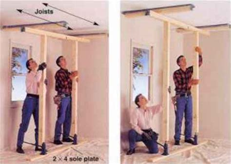 Hydraulic Floor Joist by How To Support Platform Framing Joists Parallel To The