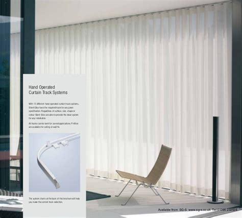 curtain tracks brochure