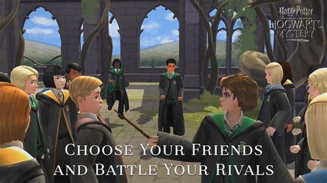 harry potter hogwarts mystery enroll   school