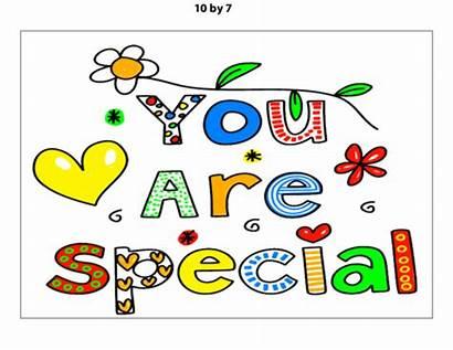 Special Poster Kidspressmagazine Clipart Words Self Positive