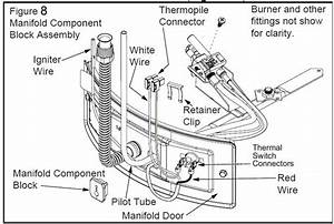 Natural Gas Gas Water Heater Parts Diagram