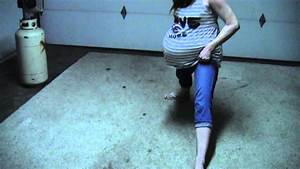 9 Months Pregnant With Twins Splits
