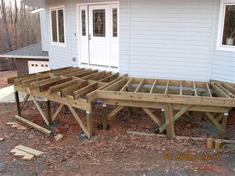 deck joist spacing for 2x6 decking framing a deck joists pictures to pin on pinsdaddy