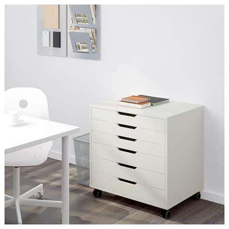 ikea alex drawer alex drawer unit on castors white 67x66 cm ikea