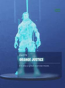 Edit 8 Is Important Oranges Justice Fortnite Battle
