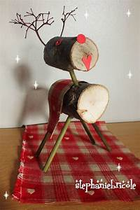 Décoration De Noel à Fabriquer En Bois : tuto diy faire un renne en bois pour d corer la table ~ Voncanada.com Idées de Décoration
