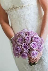 Memorable Wedding: Pretty Purple Wedding Flowers