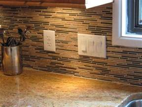kitchen glass tile backsplash cheap backsplash ideas for modern kitchen