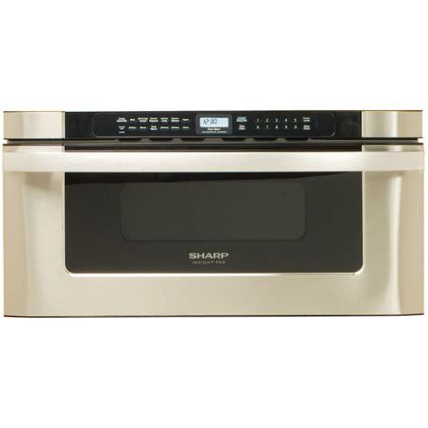 sharp microwave drawer sharp insight kb6525psrb refurb 30 quot microwave drawer 1000w