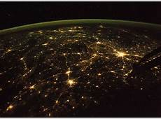 Central Nepal As Seen From Orbit at Night SpaceRef
